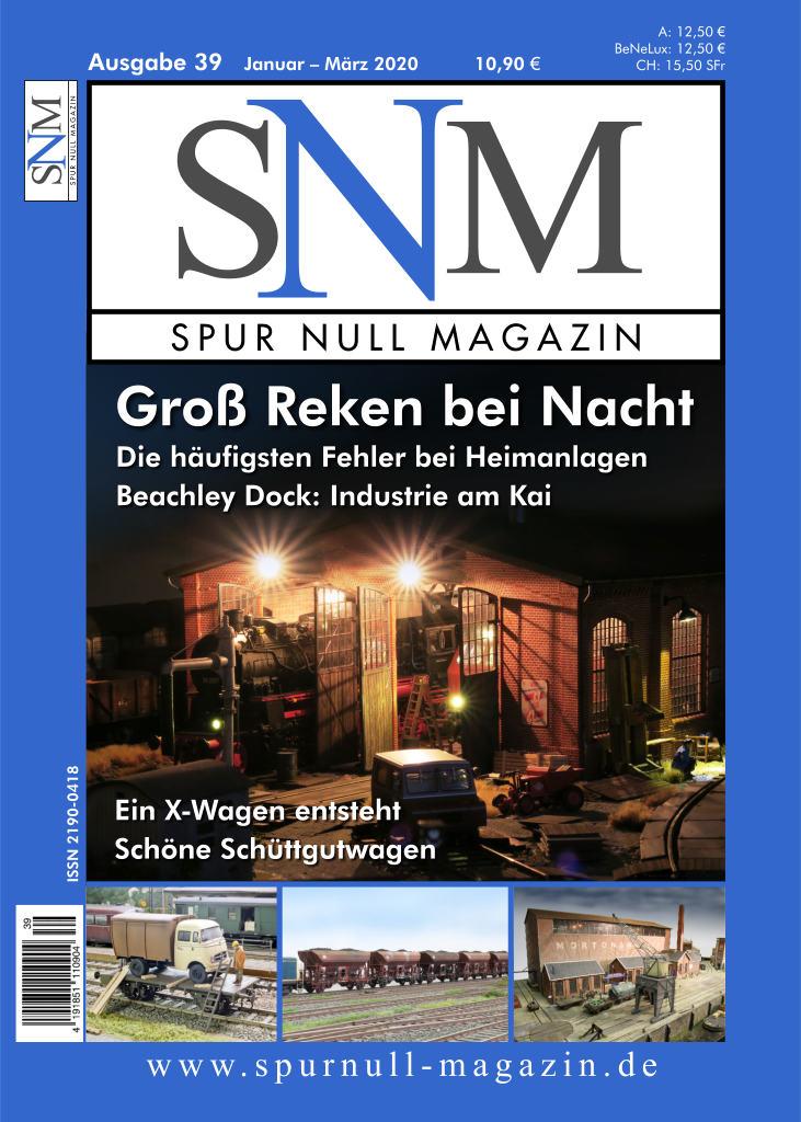 Spur Null Magazin Heft 39