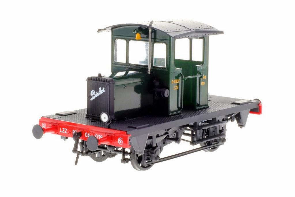 Berliet RLCB, grüne Lackierung der SNCF
