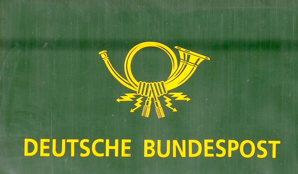 Deutsche Bundespost. Foto: Wikipedia