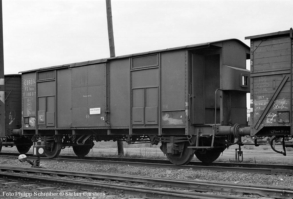 Spitzdachwagen mit Bremserhaus