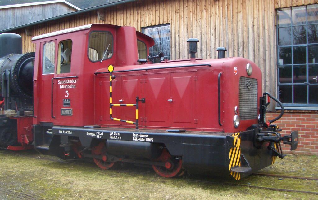 Diesellok MV8 von Orenstein & Koppel