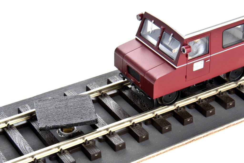 Drehteller zum Drehen des KLV12 auf dem Gleis