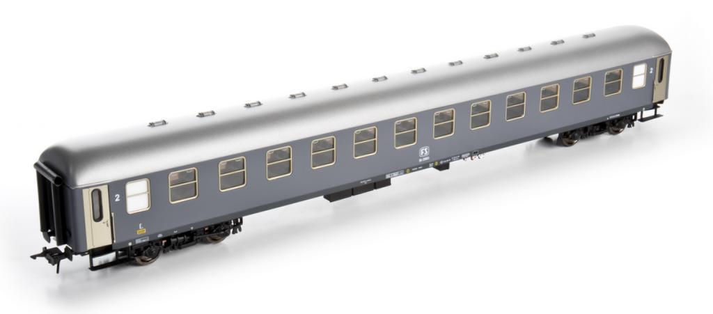 Kiss D Zugwagen der Italienischen Staatsbahn FS Ep 3