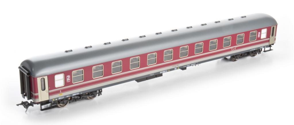 Kiss D Zugwagen der Italienischen Staatsbahn FS Ep 4