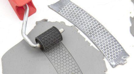 Microrama Rolle für Pflaster zwischen den Gleisen