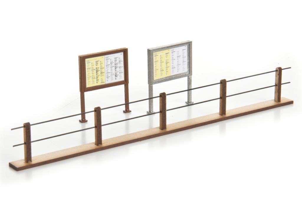 Zapf Fahrplanhalter und Geländer