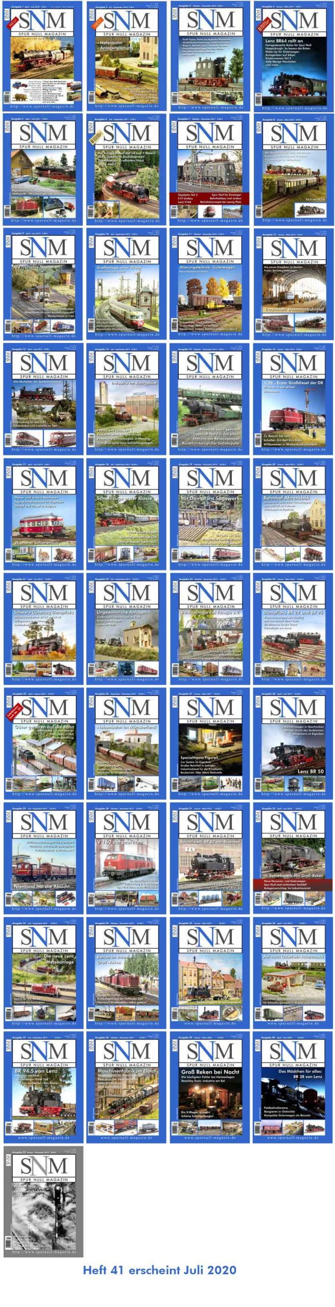 SNM Heft 1-40
