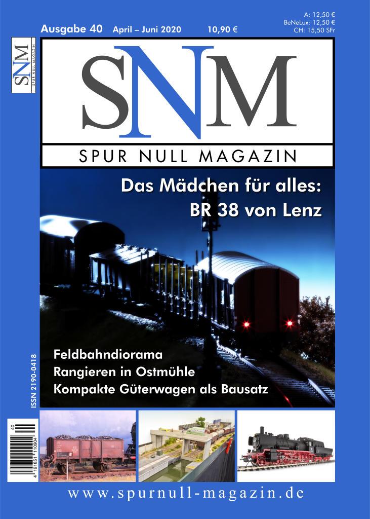 Spur Null Magazin Heft 40