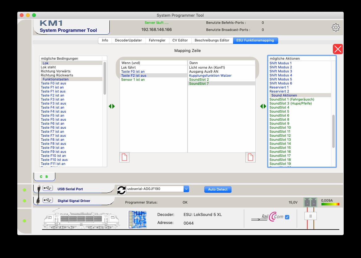 KM1 System Programmer