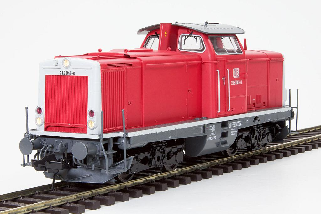 Lenz BR 212 der DB AG