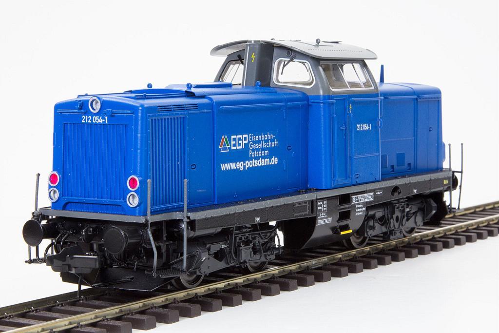 Lenz BR 212 der Eisenbahngesellschaft Potsdam EGP