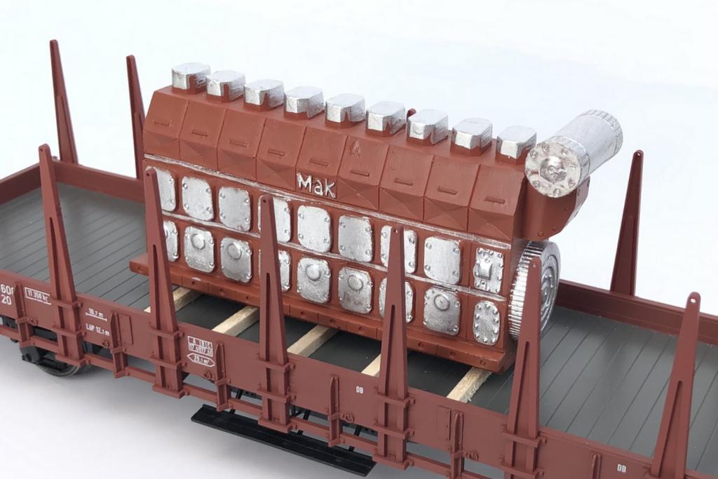 Loewe Ladegut MaK Motor