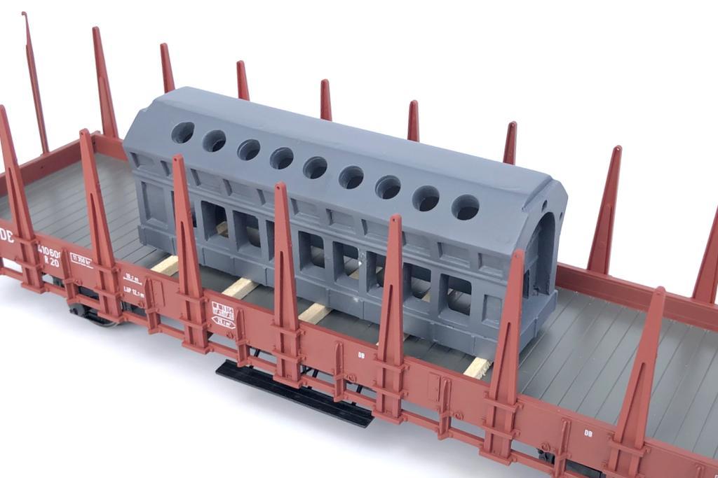 Loewe Ladegut Motorblock
