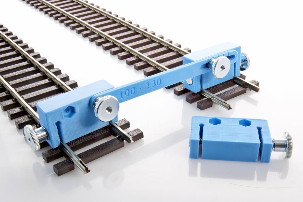 Klammern für Gleisbstand