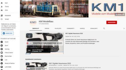KM1 Digitale Hausmesse