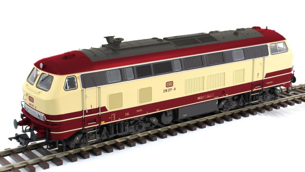 Diesellok BR 218 (Abb.: Lenz)