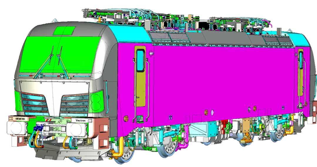 KM1_Vectron Konstruktionszeichnung