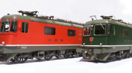 Kiss Elektrolokomotive SBB Re 6/6