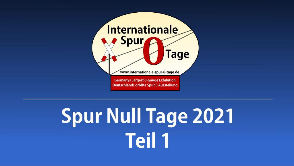 Virtuelle Internationale Spur Null Tage 2021
