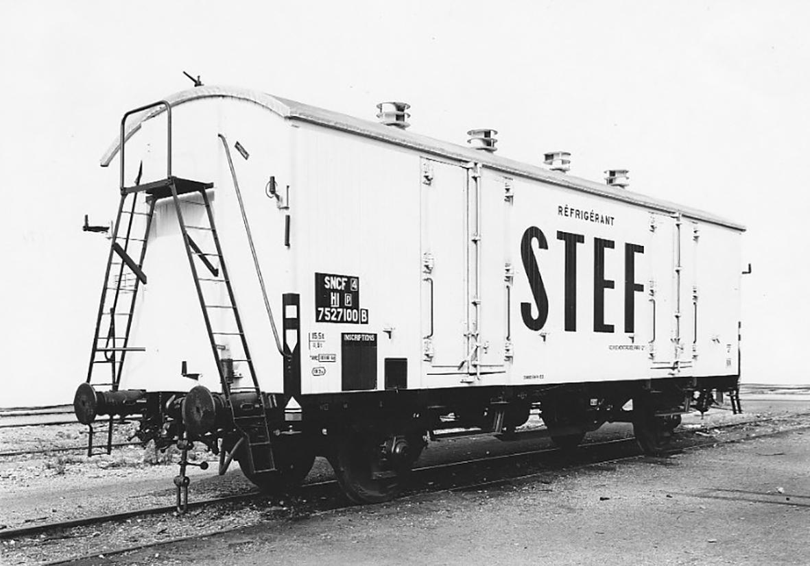 Standard Kühlwagen der SNCF - Photo collection Roger Pichon