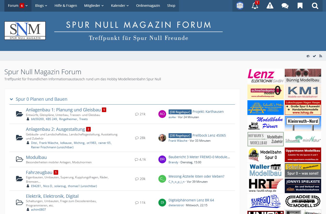 Wartunsarbeiten im SNM Forum am Dienstag