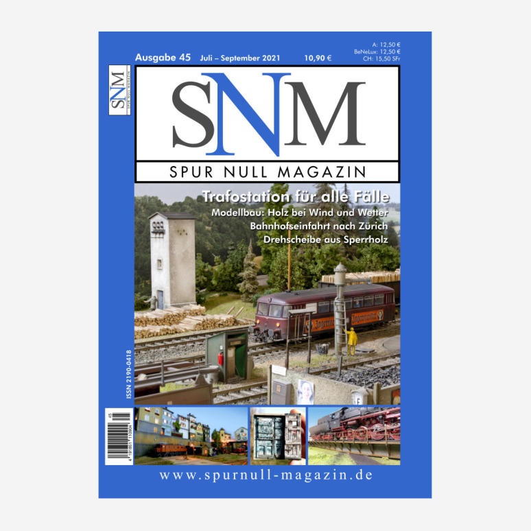 Spur Null Magazin Heft 45