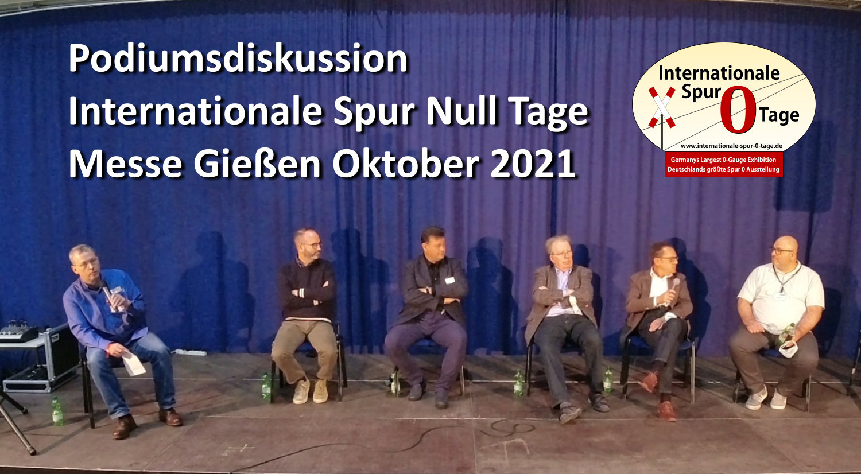 Podiumsdiskussion bei den Internationalen Spur Null Tagen Oktober 2021
